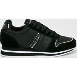 Versace Jeans - Buty. Czarne obuwie sportowe damskie Versace Jeans, z jeansu. W wyprzedaży za 399.90 zł.