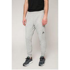 Adidas Performance - Spodnie. Szare spodnie sportowe męskie adidas Performance, z dzianiny. Za 199.90 zł.
