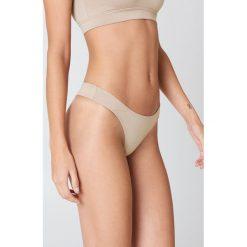 Ow Intimates Stringi Hanna - Beige,Nude. Stringi damskie marki bonprix. Za 121.95 zł.