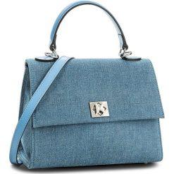 Torebka KAZAR - London 32426-TK-10 Niebieski. Niebieskie torebki do ręki damskie Kazar, z jeansu. W wyprzedaży za 449.00 zł.