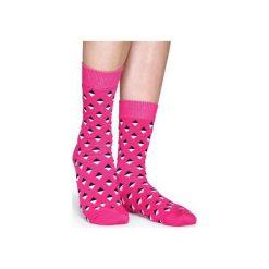Skarpetki Happy Socks  MDI01-3000. Różowe skarpety męskie Happy Socks, z bawełny. Za 24.43 zł.