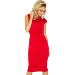 5d1a87f4a1 Sukienki damskie  Sukienka z podwyższonym stanem sf-144-2