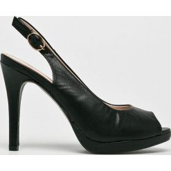 Answear - Sandały Fersini. Szare sandały damskie ANSWEAR, z materiału. W wyprzedaży za 99.90 zł.