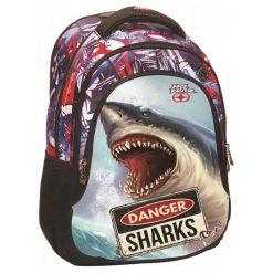 Back Me Up Plecak No Fear - Rekin. Szare torby i plecaki dziecięce Back Me Up. W wyprzedaży za 136.00 zł.