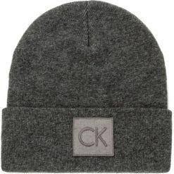 Czapka CALVIN KLEIN - Ck Beanie K50K503209 002. Szare czapki i kapelusze męskie Calvin Klein. W wyprzedaży za 159.00 zł.