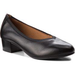 Półbuty CAPRICE - 9-22302-21 Black Nappa 022. Czarne półbuty damskie Caprice, z materiału, eleganckie. W wyprzedaży za 219.00 zł.