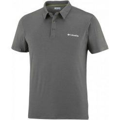 Columbia Koszulka Męska Triple Canyon Tech Polo, Shark L. Szare koszulki polo męskie Columbia. W wyprzedaży za 155.00 zł.