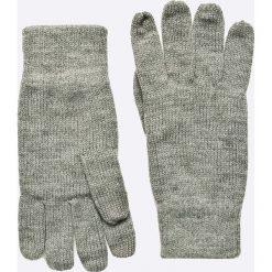 Jack & Jones - Rękawiczki. Czarne rękawiczki męskie Jack & Jones, z dzianiny. W wyprzedaży za 39.90 zł.