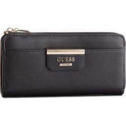 Duży Portfel Damski GUESS - SWSB64 22520 BLA. Czarne portfele damskie Guess, ze skóry ekologicznej. Za 259.00 zł.