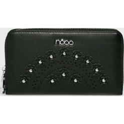Nobo - Portfel. Czarne portfele damskie Nobo, z materiału. W wyprzedaży za 114.90 zł.