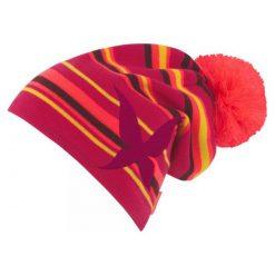 Kari Traa Czapka Beanie Peony Oz. Czerwone czapki i kapelusze damskie Kari Traa. W wyprzedaży za 99.00 zł.