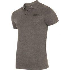Koszulka polo męska TSM301 - ciemny szary melanż. Koszulki polo męskie marki INESIS. Za 69.99 zł.