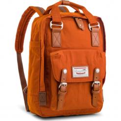 Plecak DOUGHNUT - D010-0027-F Macaroon Rust. Brązowe plecaki damskie Doughnut, z materiału, sportowe. Za 349.00 zł.