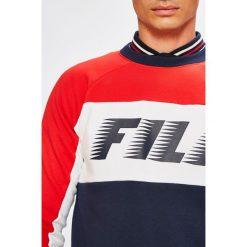 Fila - Bluza. Szare bluzy męskie Fila, z nadrukiem, z bawełny. W wyprzedaży za 279.90 zł.