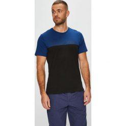 Calvin Klein Underwear - T-shirt piżamowy. Czarne piżamy męskie Calvin Klein Underwear, z nadrukiem, z bawełny. Za 139.90 zł.