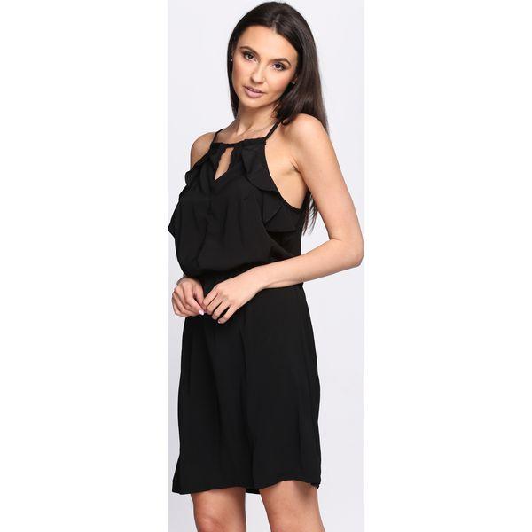 03e0d8b4aa Czarna Sukienka First Impression - Sukienki damskie marki Born2be ...