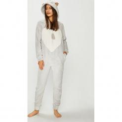Etam - Kombinezon piżamowy 650155002. Szare piżamy damskie Etam, z dzianiny. Za 219.90 zł.