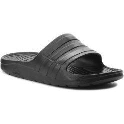Klapki adidas - Duramo Slide S77991 Cblack/Cblack/Cblack. Czarne klapki damskie Adidas, z tworzywa sztucznego. Za 79.95 zł.