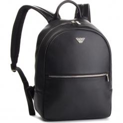 Plecak EMPORIO ARMANI - Y4O165 YLA0E 81072 Black. Czarne plecaki damskie Emporio Armani, z materiału, eleganckie. Za 979.00 zł.