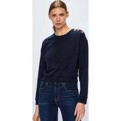 Guess Jeans - Bluza. Szare bluzy damskie Guess Jeans, z aplikacjami, z bawełny. Za 279.90 zł.