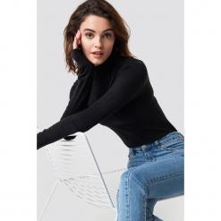 Trendyol Sweter z półgolfem - Black. Czarne swetry damskie Trendyol, z materiału. Za 80.95 zł.