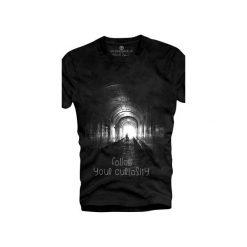 T-shirt UNDERWORLD Ring spun cotton Follow. Czarne t-shirty męskie Underworld, z nadrukiem, z bawełny. Za 59.99 zł.