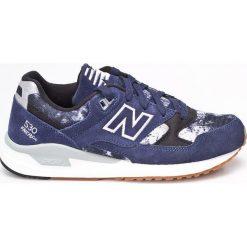 New Balance - Buty. Szare buty sportowe męskie New Balance, z materiału. W wyprzedaży za 219.90 zł.