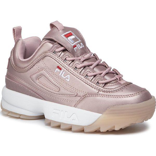 Sneakersy FILA Disruptor M Low Wmn 1010747.71S Lilas