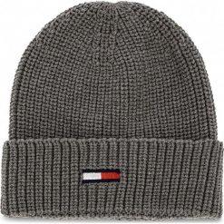 Czapka TOMMY JEANS - Tju Basic Rib Beanie AU0AU00300 050. Szare czapki i kapelusze damskie Tommy Jeans. Za 129.00 zł.