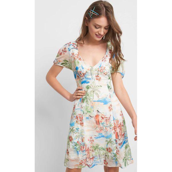 0f032317dc Sukienka ze wzorem - Sukienki damskie marki Orsay. Za 159.99 zł ...