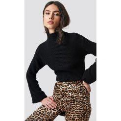 Rut&Circle Sweter w prążki Quini - Black. Czarne swetry damskie Rut&Circle, z dzianiny. Za 121.95 zł.