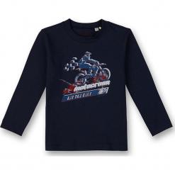 Koszulka w kolorze granatowym. T-shirty dla chłopców marki Reserved. W wyprzedaży za 72.95 zł.
