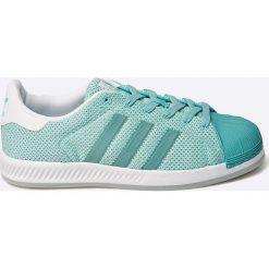 Adidas Originals - Buty superstar bounce w. Szare obuwie sportowe damskie adidas Originals, z materiału. W wyprzedaży za 239.90 zł.