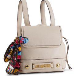 Plecak LOVE MOSCHINO - JC4037PP17LD0110  Avorio. Białe plecaki damskie Love Moschino, ze skóry ekologicznej. Za 839.00 zł.