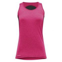 Devold Termoaktywna Koszulka Na Ramiączkach Running Singlet Lollipop M. Różowe koszulki sportowe damskie Devold, ze skóry, na ramiączkach. W wyprzedaży za 199.00 zł.