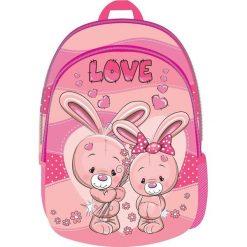 Eurocom Plecak dziecięcy mały Love Street. Różowe torby i plecaki dziecięce Eurocom. Za 32.99 zł.