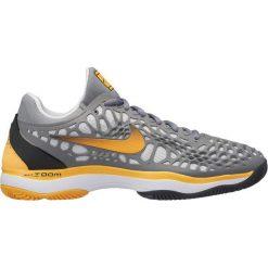 Nike Buty Do Tenisa Zoom Cage 3 Clay Cool Grey Laser Orange-Black-White 44,5. Białe buty sportowe męskie Nike. Za 575.00 zł.