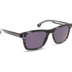 Okulary przeciwsłoneczne BOSS - 0925/S Mttblue Horn HW8. Czarne okulary przeciwsłoneczne damskie Boss. W wyprzedaży za 489.00 zł.