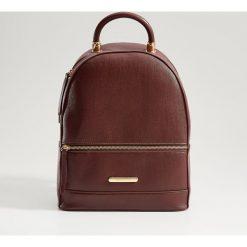 306446f84eaab Elegancki plecak z uchwytem - Bordowy. Plecaki damskie marki Mohito. Za  119.99 zł.
