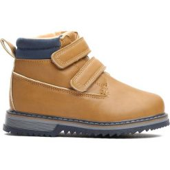 Camelowe Traperki Go Ahead. Brązowe buty zimowe chłopięce Born2be, z materiału. Za 69.99 zł.