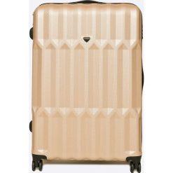VIP COLLECTION - Walizka 102 L. Różowe walizki męskie VIP COLLECTION, z materiału. W wyprzedaży za 399.90 zł.