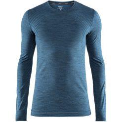Craft Koszulka Sportowa Męska Fuseknit Comfort Ls Blue L. Niebieskie koszulki sportowe męskie Craft, na zimę, z długim rękawem. Za 135.00 zł.