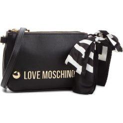 Torebka LOVE MOSCHINO - JC4308PP06KU0000  Nero. Czarne listonoszki damskie Love Moschino, ze skóry ekologicznej. W wyprzedaży za 579.00 zł.