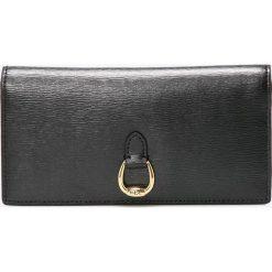 Lauren Ralph Lauren - Portfel skórzany. Czarne portfele damskie Lauren Ralph Lauren, z materiału. W wyprzedaży za 379.90 zł.