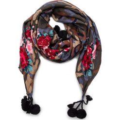 Chusta MY TWIN - Sciarpa VA8P1L St.Camouflage Rose 02836. Czerwone szaliki i chusty damskie My Twin, z materiału. Za 379.00 zł.