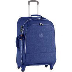 """Walizka """"Yubin Spin 69"""" w kolorze niebieskim - 45,5 x 68,5 x 32 cm. Walizki męskie Kipling, z tkaniny. W wyprzedaży za 347.95 zł."""