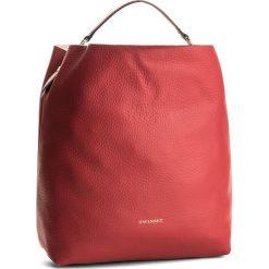 Torebka TWINSET - Sacca AS8PFA Rubino 00045. Czerwone torebki do ręki damskie Twinset, ze skóry. W wyprzedaży za 649.00 zł.