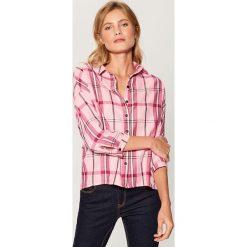 Koszula w kratę - Różowy. Koszule damskie marki SOLOGNAC. W wyprzedaży za 49.99 zł.