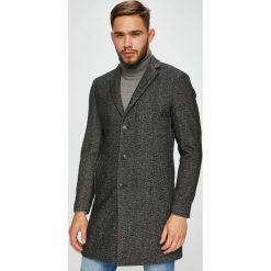 Premium by Jack&Jones - Płaszcz. Czarne płaszcze męskie Premium by Jack&Jones. W wyprzedaży za 399.90 zł.
