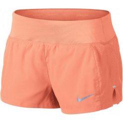 Nike Spodenki Do Biegania Damskie W Nk Eclipse 3in Short, Crimson Pulse L. Czerwone szorty damskie Nike, z materiału, sportowe. W wyprzedaży za 135.00 zł.